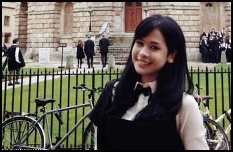 Biodata Singkat Maudy Ayunda - Oxford University