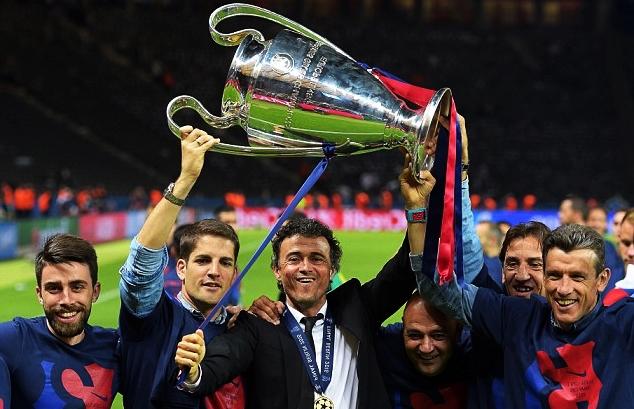Karir Sempurna Luis Enrique Selama Menjadi Pelatih di FC Barcelona
