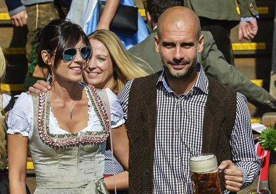 Pep Guardiola, Kekasihnya, Christina Serra dan Buah Hatinya