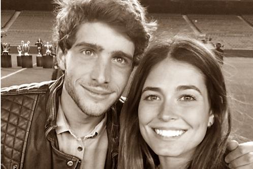 Sergi Roberto dan Kekasihnya Coral Simanovich