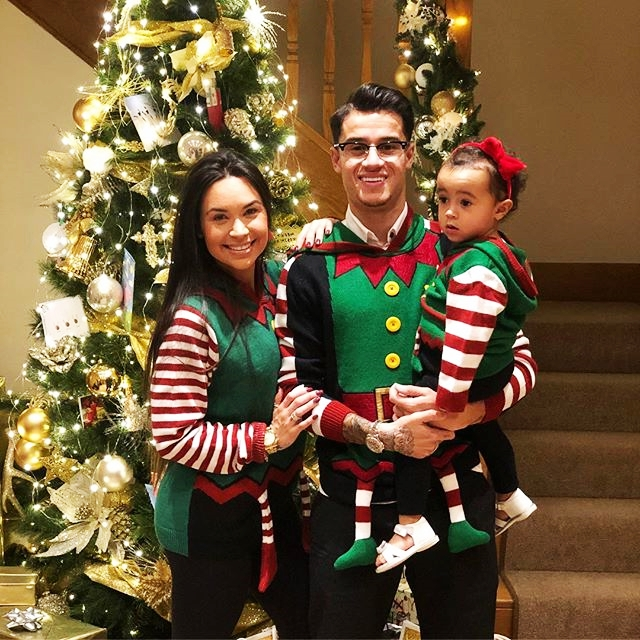 KeluargaPhilippe Coutinho dan Kisah Asmaranya Bersama Aine