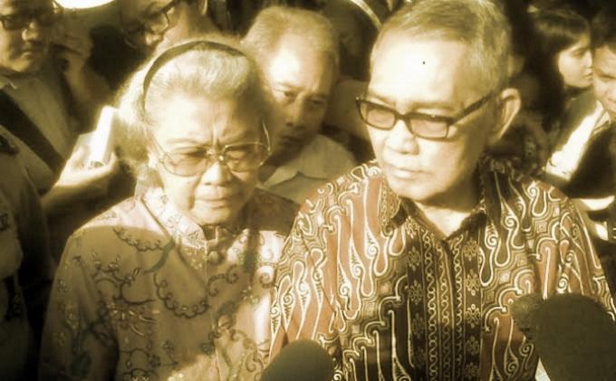 Agama Tri Sutrisno serta Istri dan Anak Anak Wakil Presiden Soeharto