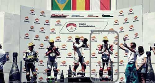 Prestasi Dimas Pratama yang Pernah Naik ke Podium 3 di Sirkuit Catalunya Barcelona